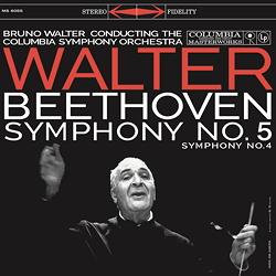 Beethoven : Symphony No. 5 – Symphony No. 4 – Bruno Walter