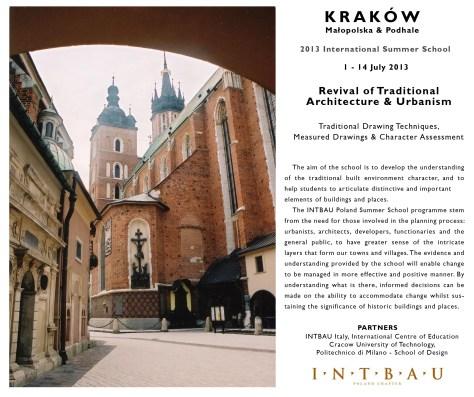 Krakow School 2013