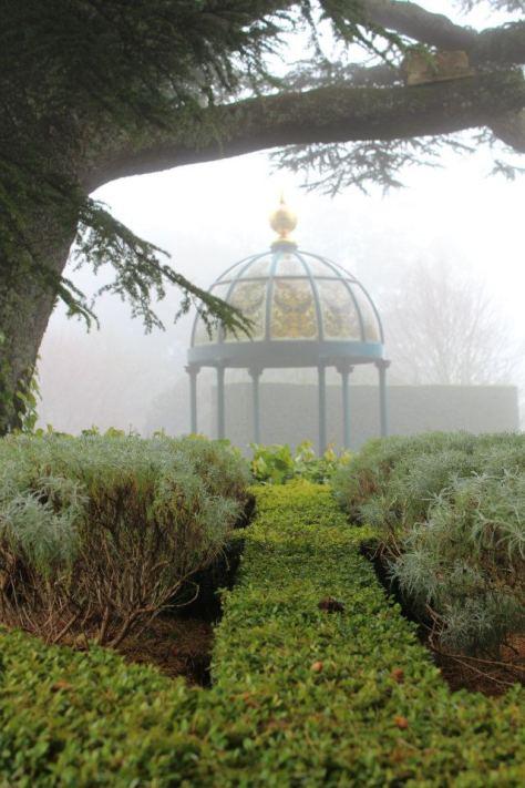 Lanarch Castle garden