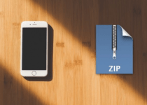 download zip files on iphone