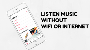 music apps without wifi