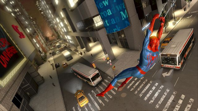 spider mans amazing features