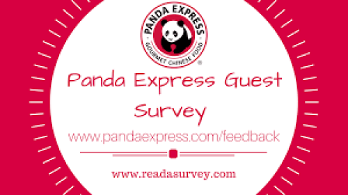 Panda Express Feedback survey guide