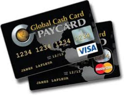 Global Cash Card Activation