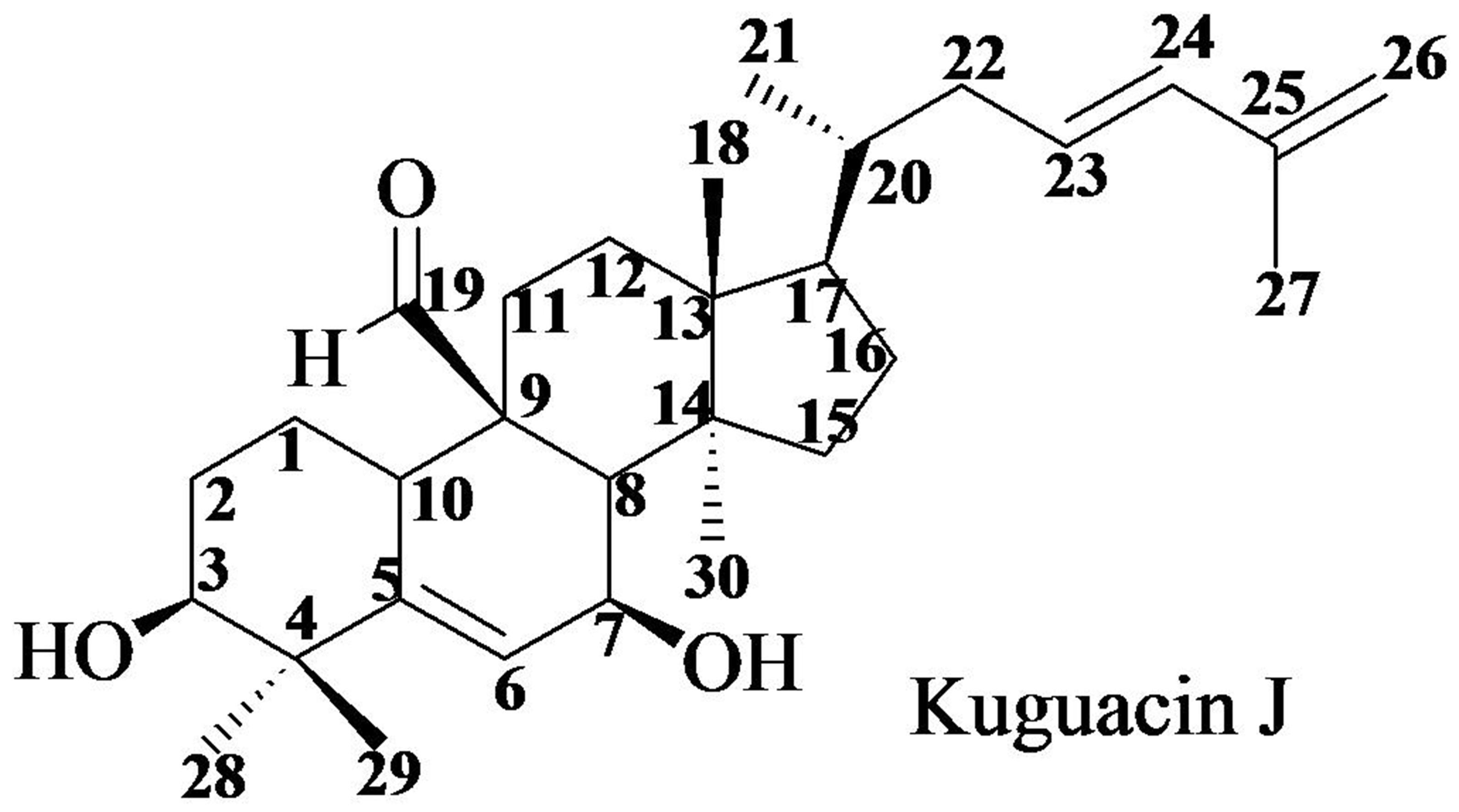 Kuguacin J, a Triterpenoid from Momordica charantia Linn