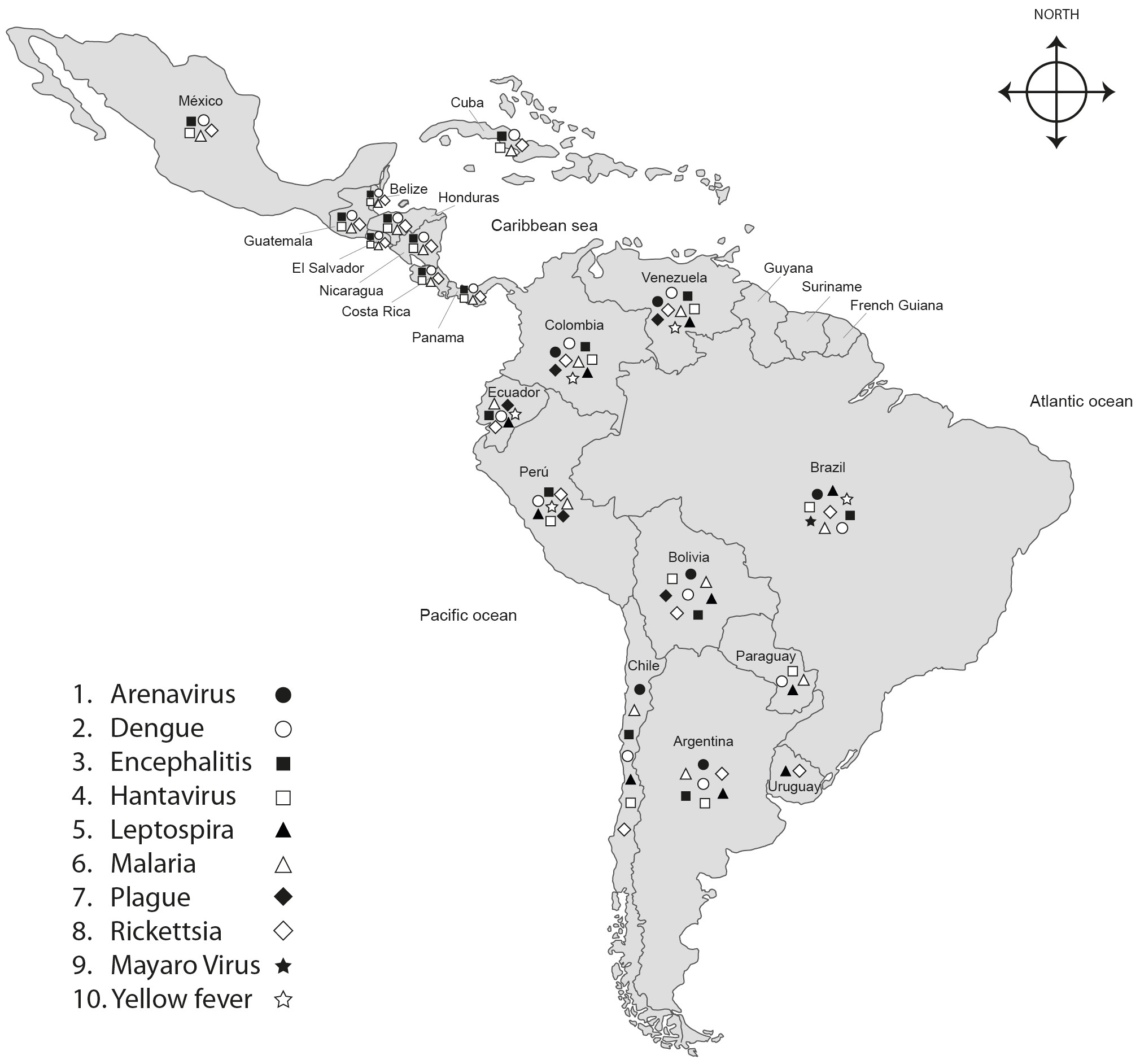 Haemorrhagic Fevers Transmitted by Vectors in the Neotropics ...