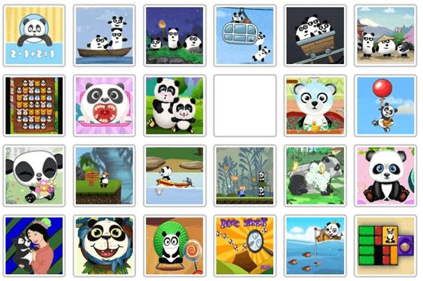 baby panda games html5