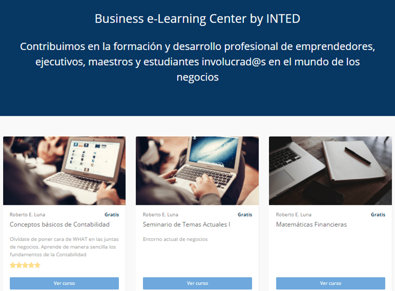 elearning by inted