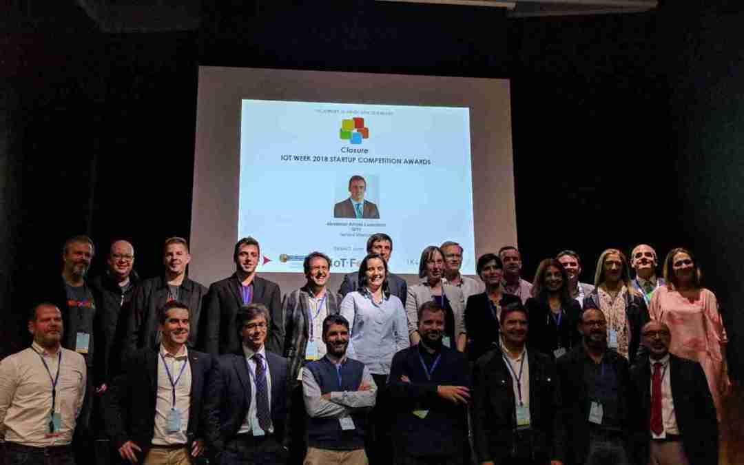 IDAB-IIoT finalista en la Start-up competition de la IoT Week