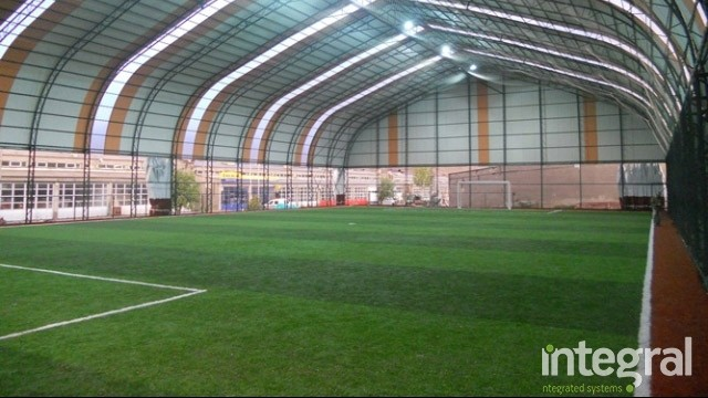 indoor turf carpet field