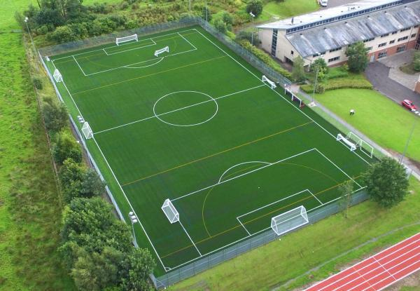 Artificial turf for soccer field