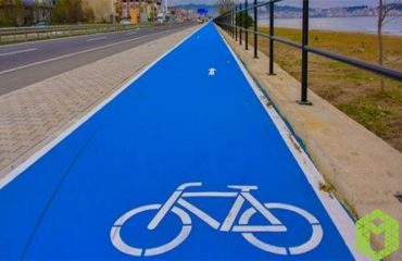 Bicycles Get Free Areas With Bicycle Lane Paints!