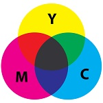 roue chromatique cmyk