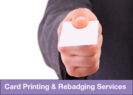 Integrated ID Systems Card Printing and Rebadging