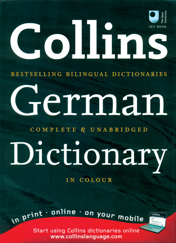 Collins Robert German Dictionary