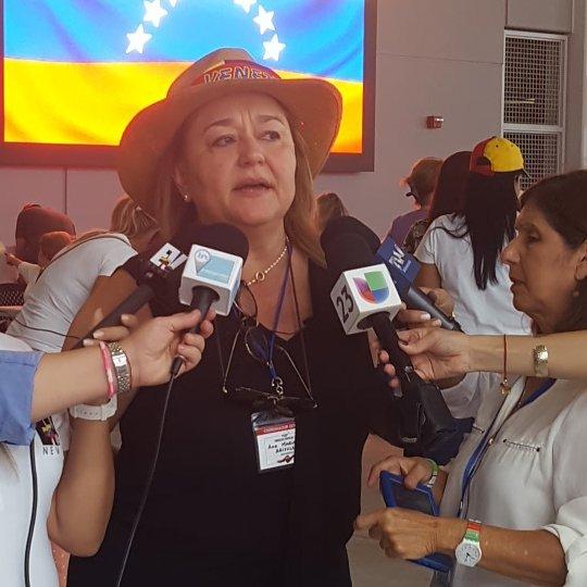 #16j Primer boletín de participación desde el PS #MiamiDadeCollege #16julio #EstoyconVenezuela