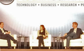 Esther Dyson and Steve Case