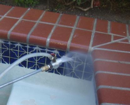 cleaning pool tile pool tile cleaning