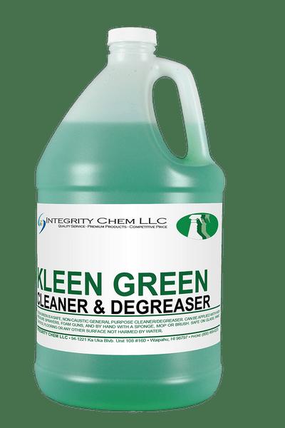 KLEEN GREEN CLEANER  DEGREASER