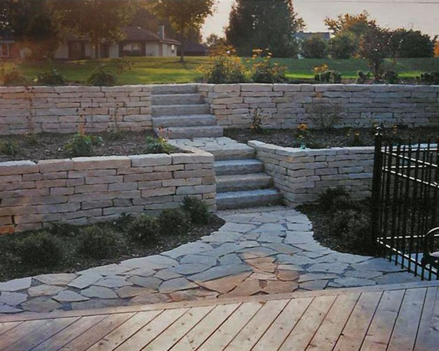 Lannonstone Retaining Walls
