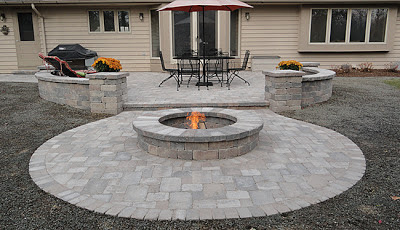 Integrity-installed fire pit
