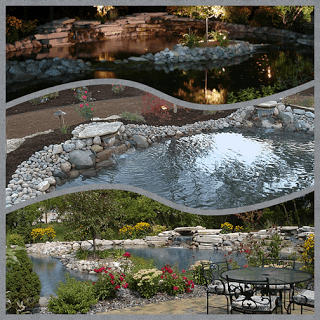 Integrity Landscape water feature samples