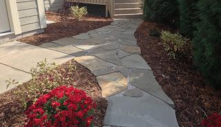 quarry stone pathway