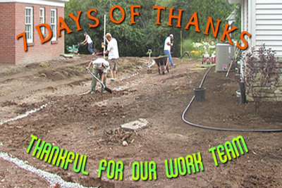 Integrity Landscape is thankful for our work team.