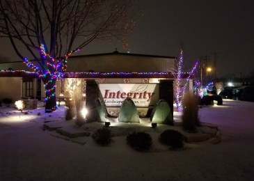 Milwaukee landscaper, happy holidays, landscaper, landscapers in, landscape companies