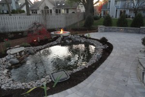 Patio and Water Feature Installation in New Berlin WI