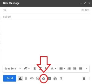 Attach your resume from the drive directly to the email from Gmail!