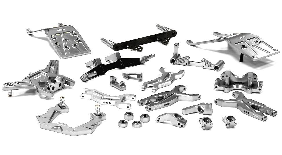 Billet Machined Complete Suspension Kit for 1/10 Traxxas