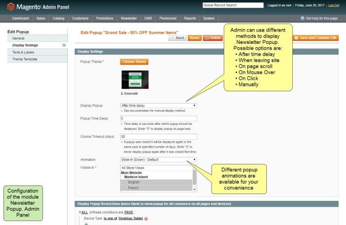 Nieuwsbrief Popup Extensie voor Magento 1-96