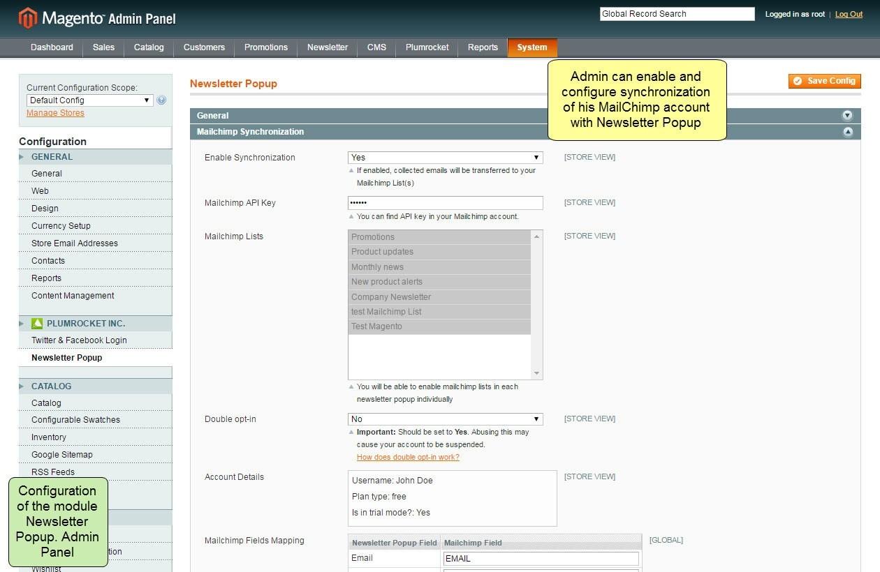Nieuwsbrief Popup Extensie voor Magento 1-103