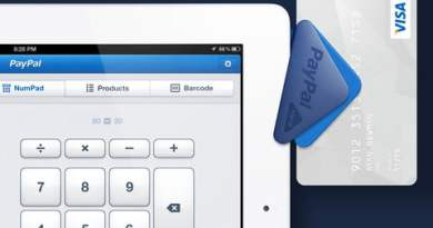 PayPal Here cardreader