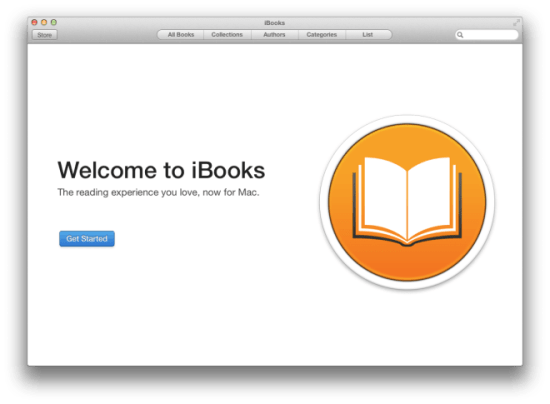OS X Mavericks Developer Preview 5 traz em seu update iBooks
