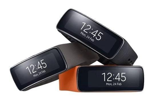 Gear Fit da Samsung, uma agora apostando em atividades fisicas de verdade.