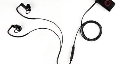 HEART RATE MONITOR EARPHONE monitorando sua freqüência cardíaca pelos ouvidos