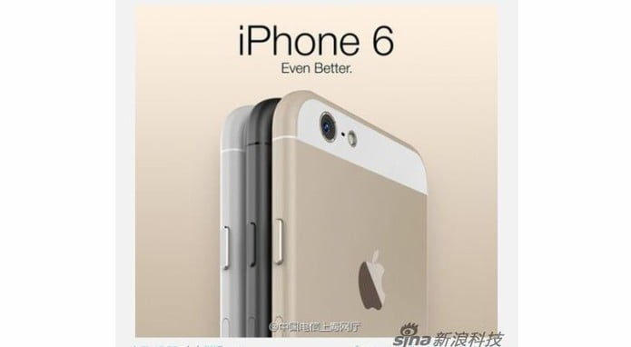 According to a Sina News report (via ZDNet) esse seria o iPhone 6
