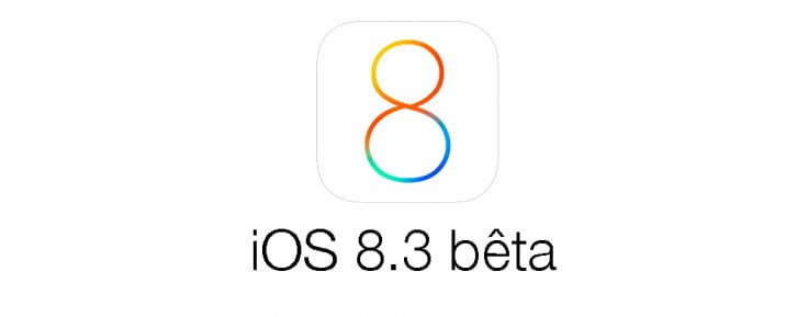 tela do ios 8.3 beta