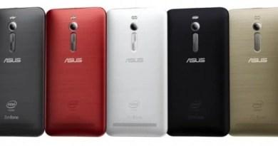 Zenfone 2 em muitas cores