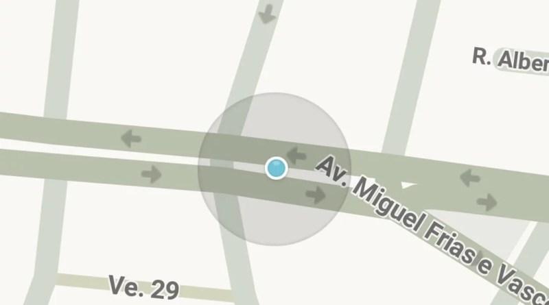 Nota tela do Waze 4.0 mais clean e rápida de reportar problemas