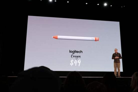 Foto: Logitech Crayon  - The Verge