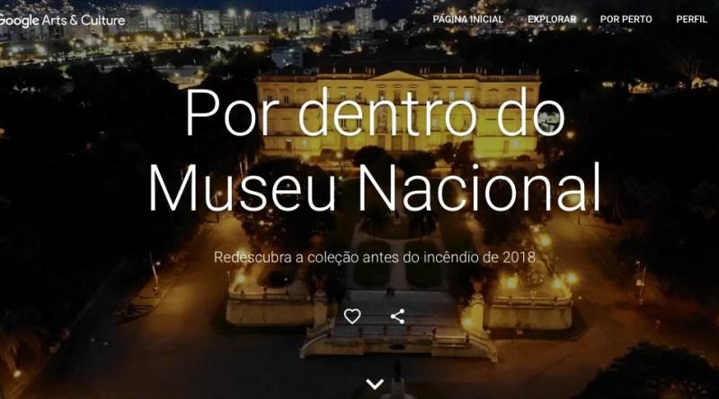 Tour Virtual do Museu Nacional Brasileiro