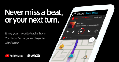 YouTube Music chega ao Waze