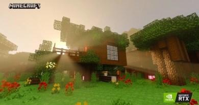 Minecraft com NVIDIA RTX
