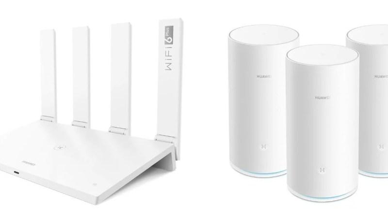 Huawei roteadores Wi-Fi 6 e Mesh