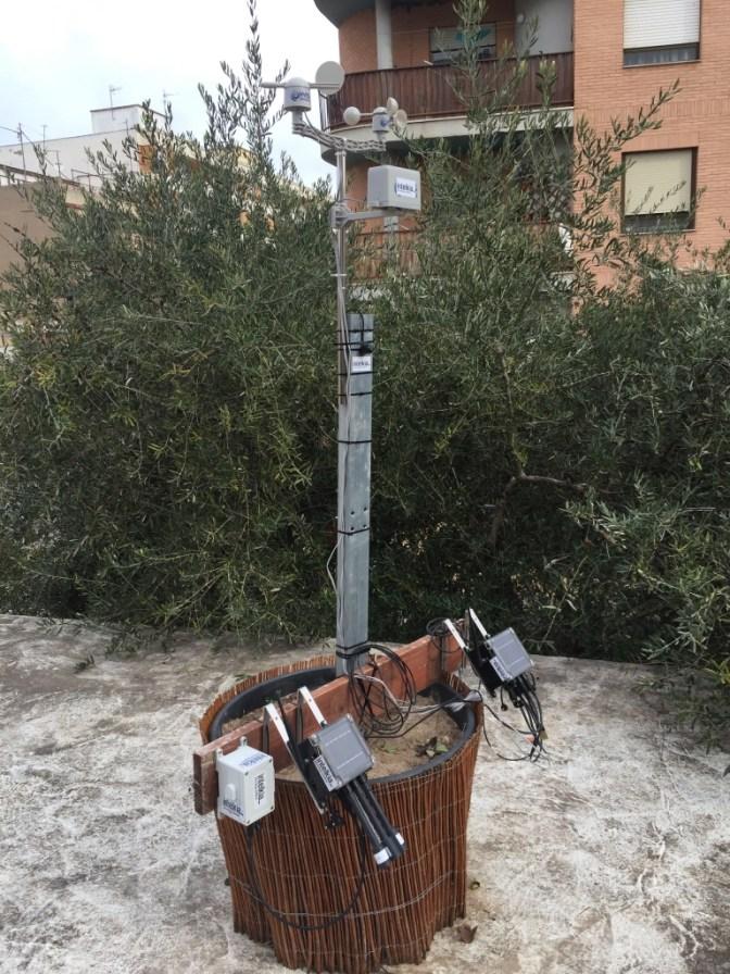 Estación meteorológica Smart Garden