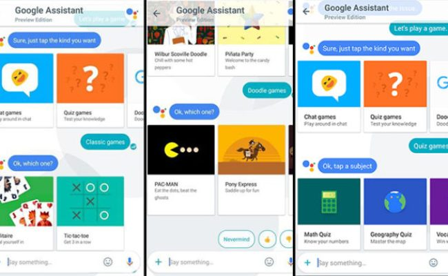 How To Play Google Assistant Games In A Web Browser