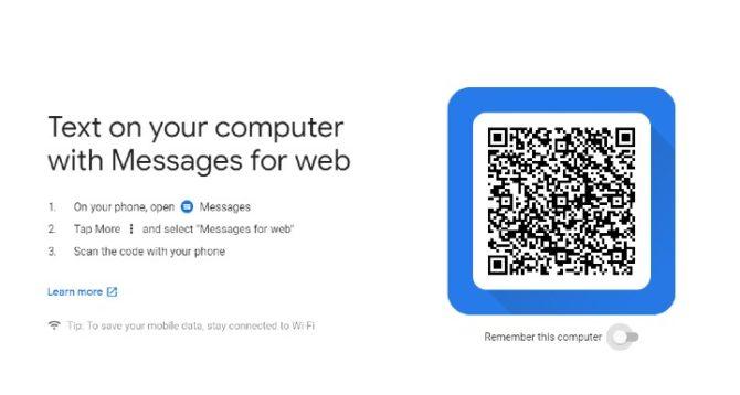 Как использовать сообщения Android для Интернета на вашем ПК